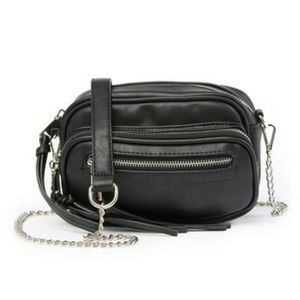 Urban Expressions Compact Zipper Crossbody Purse